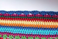 Crochet Along Babydecke Teil 11 Reihe 7 - schoenstricken.de