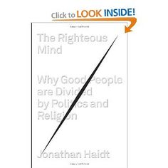The Righteous Mind: Why Good People Are Divided by Politics and Religion. Includes results of MRI tests/ brain research research done on hyper-partisan folks--posits emotional area of brain triggered in these arguments, NOT the area involved in reasoning/ problem-solving.  The argument itself functions as a drug, explaining the inflexibility of perspective.