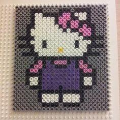 Hello Kitty hama perler by helletang81