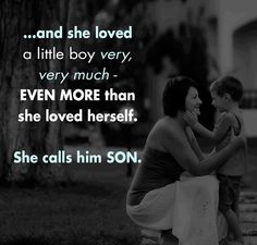 So very true. I love my three boys more with every birthday.  The best thing in life is watching your boys turn into loving fathers