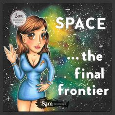 The Crippled Crafter: SPACE... the final frontier (an Illustrations by T...