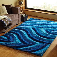 Sapphire Blue Premium Rug