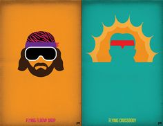 WWF Legends Minimalist Posters | Cool Material