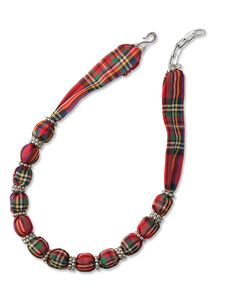 Just found this Plaid Scarf Necklace - Silk-Scarf Beaded Necklace -- Orvis on Orvis.com!