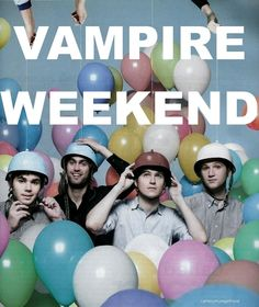 Vampire Weekend knows how to have fun. Add them to your Endorfyn Likes: www.endorfyn.com/us/home?like=Vampire%20Weekend