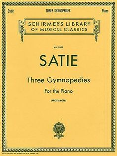 His Gymnopedies, Embryons Desséchés, and Nocturnes are all I want to hear as I drift off to sleep <3 [Gymnopedie No. 3. Erik Satie.]