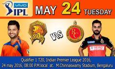 Gujarat Lions vs Royal Challengers Bangalore Live Cricket Score, , Indian Premier League 2016, May 24, 2016 | IPLCricket