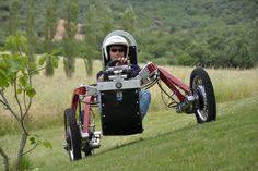 Swincar All-Terrain-паук Электрический автомобиль - Прохладный Охота