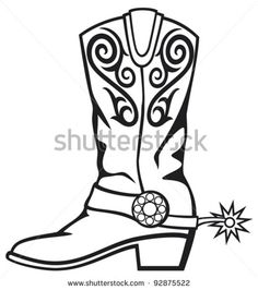 Cowboy Hat Coloring Pages Cowboy Boot Coloring Page Clipart 3082259 Pinclipart. Cowboy Hat Coloring Pages Cowboy Hat Boots Coloring Page Clip Art Swee. Cowboy Boots Drawing, Cowboy Draw, Western Clip Art, Monet, Westerns, Clipart Black And White, Silhouette Cameo Projects, Silhouette Art, Silhouette Studio