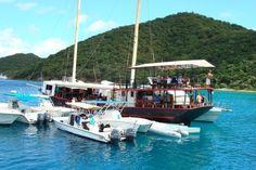 """Willie """"T's"""" Restaurant, Norman Island, BVI"""