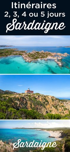 Itinerary for 4 or 5 Days in Sardinia. For a weekend or more, I give you my best tips to plan your short trip to Sardinia. Where to go and + where to stay during your or 5 days tour in Sardinia. Resorts, Alghero, Costa, 3 Days Trip, Road Trip, Destinations, Sardinia Italy, Natural Park, Most Beautiful Beaches