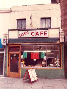 Cycling In London, London Cafe, London Street, Vintage London, Old London, East London, Vintage Shops, Ed Freeman, Newham