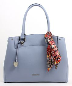 Take a look at this London Fog Hydrangea Scarf-Accent Wembley Tote today!