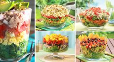 10 Easy Layered Salads