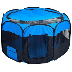 PETMAKER Pet Pop-Up Playpen Deluxe with Canvas Carrying Bag ** Startling review available here  : Crates, Houses and Pens for dogs