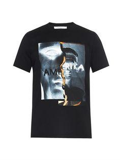 Cuban-fit Amerika-print T-shirt | Givenchy | MATCHESFASHION.COM