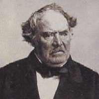 Portrait of French painter Octave Tassaert 1800-1874