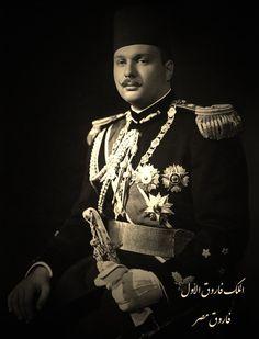 موقع الملك فاروق الاول - فاروق مصر