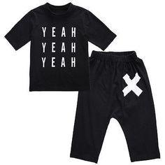 Short Sleeve T-shirt with Harem Pants