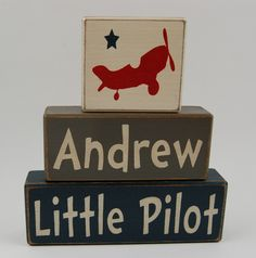 Personalized-Little Pilot-Airplanes home decor, birthday decoration, nursery room decor
