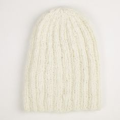 Angora Luxe Beanie in Ivory   Nube Green $95