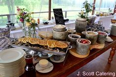 A waffle bar makes a fun food station for a breakfast or brunch wedding! Wedding Brunch Reception, Wedding Catering, International Waffle Day, Wedding Food Stations, Waffle Bar, Wedding Appetizers, Party Food And Drinks, Catering Food, Christmas Brunch