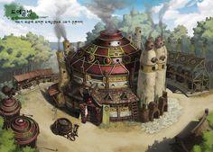 GGSCHOOL, Artist 이강민, Student Portfolio for game, 2D Scene Concept Art, www.ggschool.co.kr