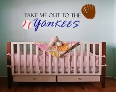 Baby Nursery, Baby Boy Nursery, Baseball Nursery, Baseball Decor, MLB Baby, MLB Teams Decor, Nursery Wall Decal, Nursery Wall Art, Nursery by OnceUponAHoliday on Etsy