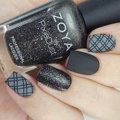 Most Popular Ways to Wear Grey Nails You Don't Know ❤ Matte Grey Nails picture 1 ❤ Gray nail art designs are far fancier than you can imagine. So we have decided to treat you with a nice and trendy portion of grey nail art to get inspired with. https://naildesignsjournal.com/grey-nails-designs/ #nails #nailart #naildesign #greynails