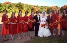 Beautiful Bridesmaids in Silk!  #Custom #Wedding Wear by phayesdesigns.com