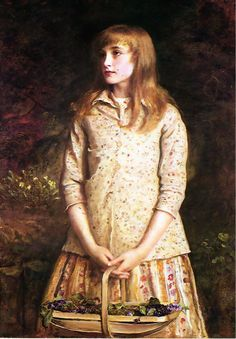 Sir John Everett Millais, 1881, Sweetest eyes that were ever seen. Oil on canvas. National Galleries of Scotland