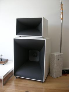 FS: Exemplar Audio Horn Speakers - Classifieds Archive - StereoNET
