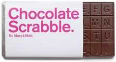 "chocolate packaging <<< I'd just eat it all. ""I had 'waterfall,' but now I just have 'fal.'"""