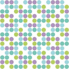 Zombies Droppin' Dots White fabric by sugarxvice on Spoonflower - custom fabric