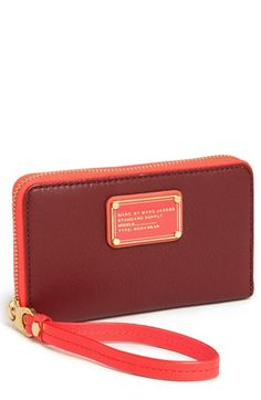 MARC BY MARC JACOBS 'Classic Q - Wingman' Phone Wallet
