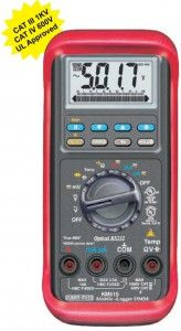 KM 515-3-5 by 6 DIGIT DIGITAL TRMS MULTIMETER MOBILE-LOGGER-WITH PC INTERFACE-KUSAM MECO • Data Logging + On screen Data item review • 52 Segment Bar Graph • Splash Proof construction • Auto Leads Resistance Calibration • Sleep & Log mode to largely extend battery life. • Logged Max's & Min's turning points on screen recall. • Basic Accuracy 0.08% • RS232 PC interface • Fully Auto-Ranging • Fast Measurement 5/Sec