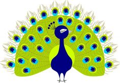 Wallmonkeys WM73005 Peacock Cartoon Peel and Stick Wall Decals (36 in W x 25 in H) ** Tried it! Love it! Click the image. (This is an amazon affiliate link. I may earn commission from it)