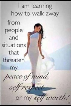 Motivation Quotes : QUOTATION – Image : Quotes Of the day – Description I am learning how to walk away from people and situations that threaten my peace of mind, self respect or my self worth ❤️☀️ Sharing is Power – Don't forget to share this quote ! Great Quotes, Me Quotes, Inspirational Quotes, Qoutes, Motivational Thoughts, Diva Quotes, Queen Quotes, Photo Quotes, People Quotes