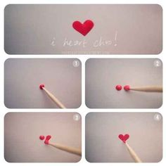 Easily paint a heart with a toothpick. | 33 Easy Nail Hacks For A Flawless DIY Manicure Heart Nail Art, Heart Nails, Nail Art Hacks, Nail Art Diy, Nail Polish Hacks, Nail Polish Art, Diy Valentine's Nails, Fingernail Polish Designs, Manicure Nail Designs