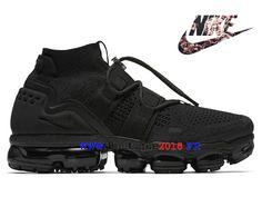 Nike Air VaporMax Flyknit utility Pas Cher Prix Asphalt Chaussures Homme Triple-Black AH6834-001-Nike Boutique de Chaussure Baskets Site Officiel boutique2018.fr