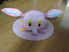 Easter bunny bonnet.