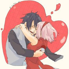 I think it's cute that Sakura has the Uchiha Symbol, now.