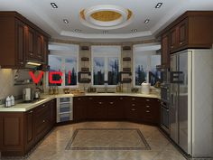 Brand: VC Cucine Finish: Solid Wood finishing Size: Customized Origin: Foshan China Package: Standard export carton with foam protection Solid Wood Kitchen Cabinets, Solid Wood Kitchens, Classic Style, Cherry, China, Furniture, Home Decor, Decoration Home, Room Decor