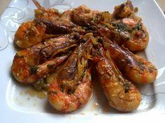 Greek Recipes, Fish Recipes, Healthy Recipes, Healthy Food, Squid Dishes, Vigan, Easter Crafts, Shrimp, Main Dishes