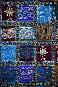 pakistani hand stitched wall hanging tapestry by ShaukatNiazi, via Flickr