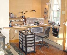 jewelry making space ideas