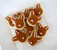 Bunny Sugar Cookies Oh So Small Mini 3 Dozen by OldTimeFavorites