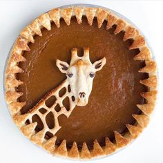 Cute giraffe pumpkin pie, how novel, with sawtooth trim Cute giraffe pumpkin pie, how novel, with sawtooth trim Related posts: Try This Pumpkin Pie Cupcakes Impossible Pumpkin Pie Cupcakes Just Desserts, Delicious Desserts, Dessert Recipes, Yummy Food, Dessert Ideas, Dessert Food, Pastel Art, Cupcakes, Cupcake Cakes