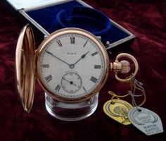 Men's 1928 Elgin National Watch Co. Hunter Case Pocket Watch | Strickland Vintage Watches