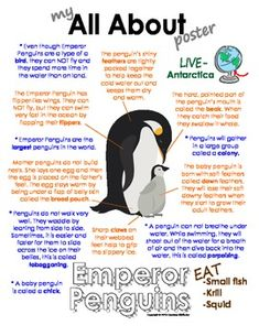My All About Emperor Penguins Book - (Antarctic/Polar Animals) - Also available in a polar animal bundle pack with walrus, polar bear, caribou and Arctic wolf. Emperor Penguin Facts, Emperor Penguins, Artic Animals, Penguins And Polar Bears, Arctic Wolf, Animal Habitats, Animal Facts, Antarctica, Books
